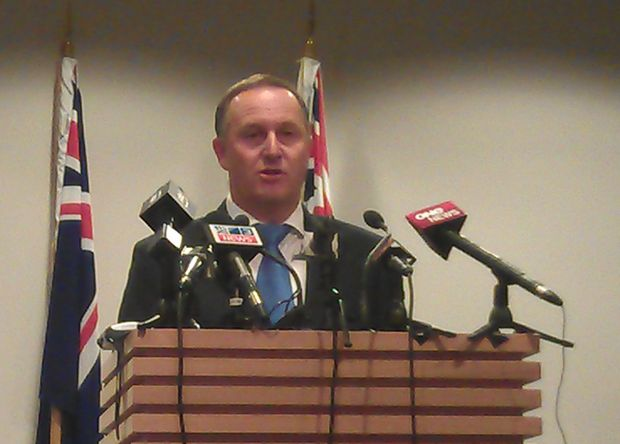 John Key says it's time for some fresh faces.