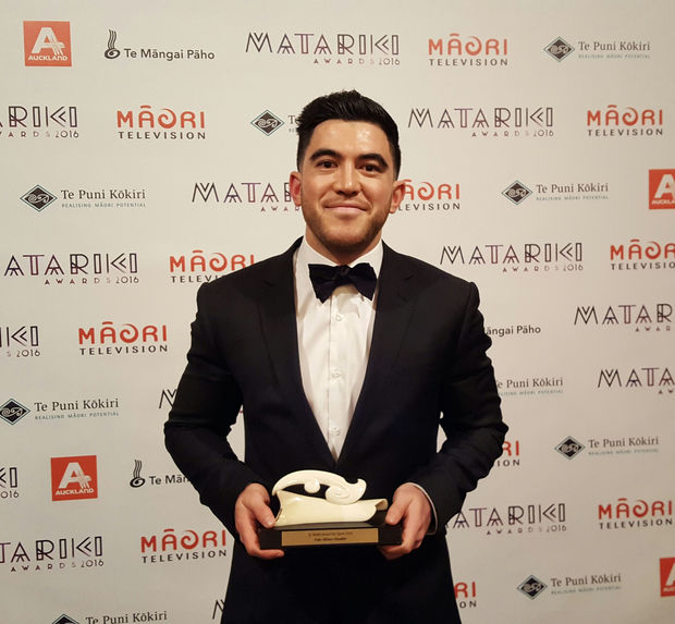 Hollywood actor Cliff Curtis and All Black Nehe Milner-Skudder were honoured at the inaugural Matariki awards - a celebration of Māori talent and achievements.