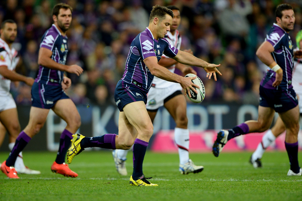 Melbourne Storm rugby league player Cooper Cronk.