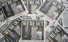 Brexit headlined newspapers