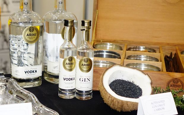 Ariki, a New Zealand-based vodka, has sought to use Pacific products, its owner said.