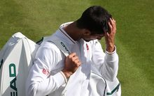 Novak Djokovic after defeat at Wimbledon