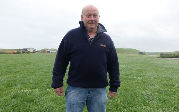 Frazer Fields at his section, which is close to the area where the windfarm is proposed to be.
