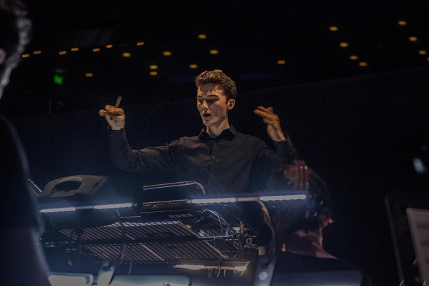 21 year old music director, conductor, composer and pianist Zac Johns
