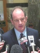 David Shearer announced Labour was putting up a rival candidate for Speaker.