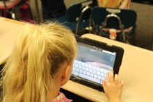 Using an iPad in the classroom