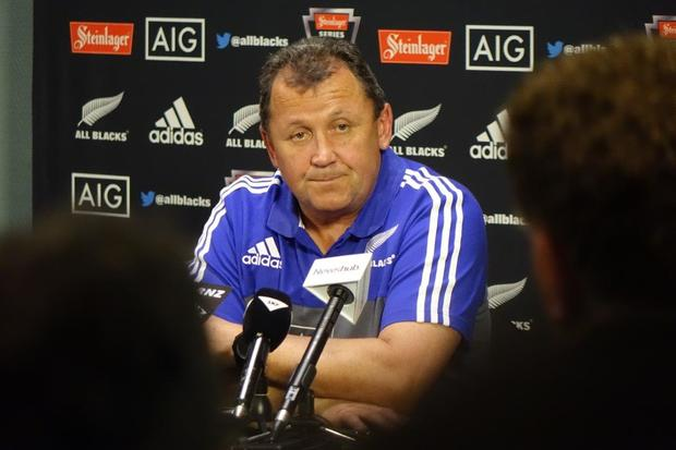 Assistant All Blacks Coach Ian Foster