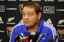 All Black coach Steve Hansen