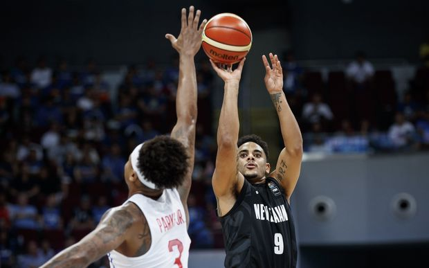 Corey Webster led the scoring for the Tall Blacks.