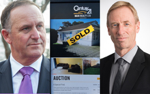 John Key, sold house, Grant Spencer
