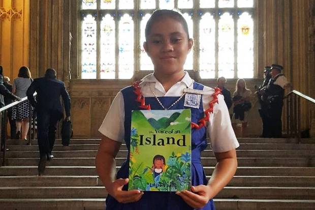 "Lupe Va'ai launched her book called ""The Voice of an Island"" in London."