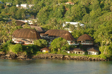 The Rainmaker Hotel in Pago Pago, American Samoa.