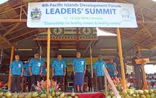The opening of the Pacific Islands Development Forum Leaders' Summit 2016, Honiara, Solomon Islands