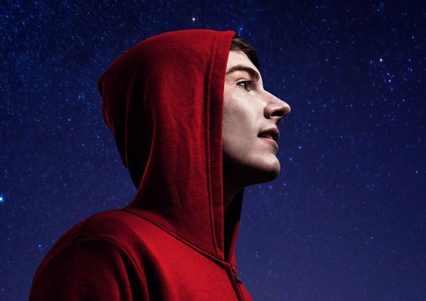 Tim Earl as Christopher in The Curious Incident of the Dog in the Night-Time