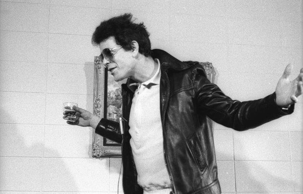 Lou Reed press conference Intercontinental Hotel Auckland October 1977.