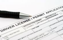 Drivers licence application generic