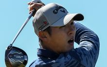 New Zealand golf number one Danny Lee  at Royal Troon.