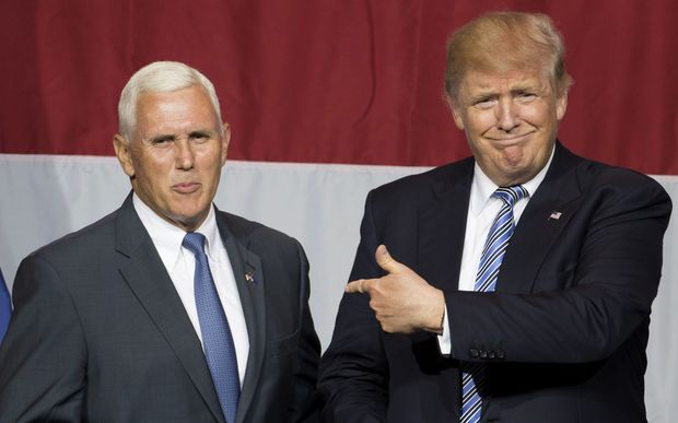 Trump Shuns Mike Pence By Introducing His VP Then Running Off Stage