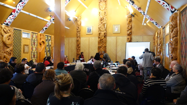 Māori Party AGM at Te Manukanuka o Hoturoa Marae in Mangere on 16 July.