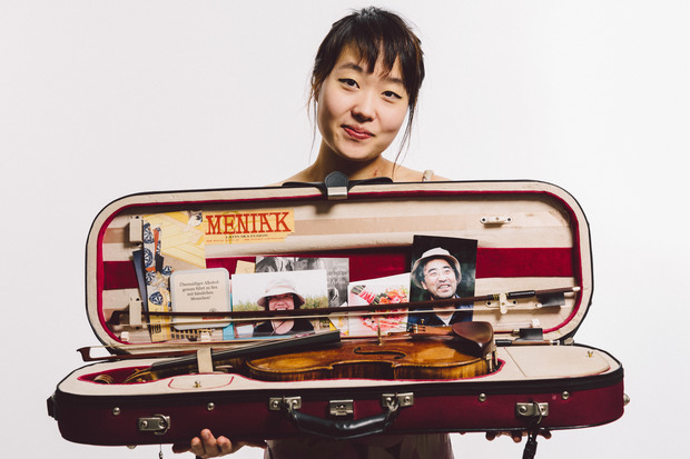 Suyeon Kang, winner of the 2015 Michael Hill International Violin Competition