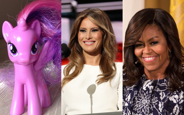 Twilight Sparkle, Melania Trump, Michelle Obama