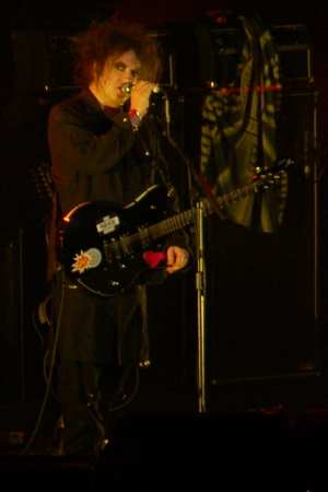 Robert Smith of The Cure, 2007