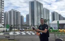 New Zealand Olympic team chef de mission Rob Waddell in the athletes village.