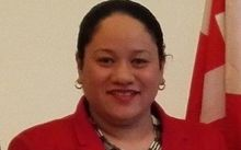 The only woman in the Tonga parliament, 'Akosita Lavulavu
