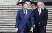 John Key and Joe Biden