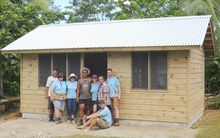 A home built by Habitat for Humanity in Samoa