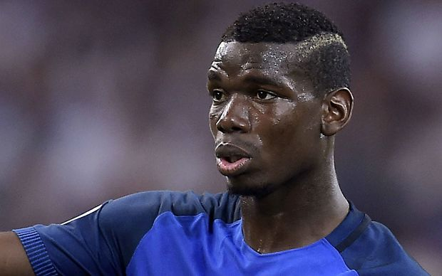 The French footballer Paul Pogba.