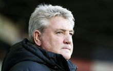 English football manager Steve Bruce.