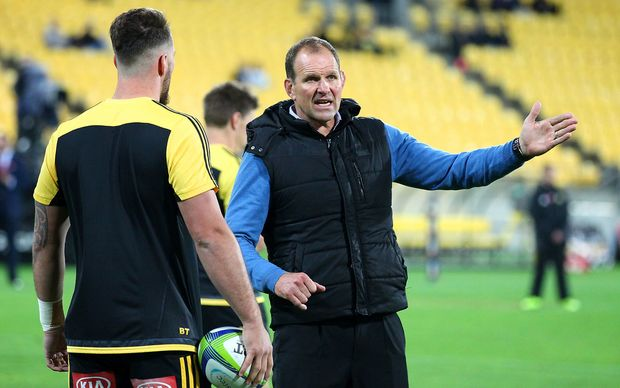 Hurricanes assistant coach John Plumtree.