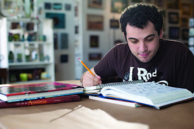 Owen Suskind in Life, Animated
