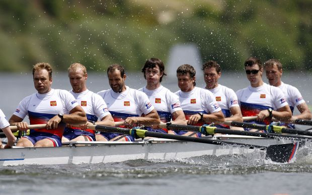 Russian rowers.