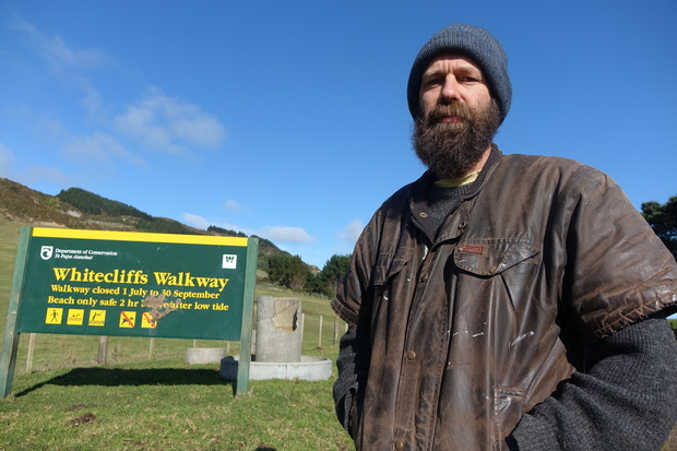 Tongaporutu farmer Russell Gibbs is withdrawing permission for public access to his land over an alleged breach of agreement.