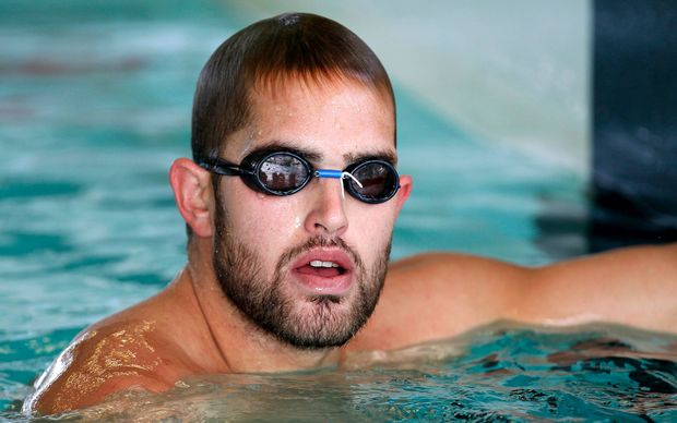 The former New Zealand Olympic swimmer Moss Burmester.
