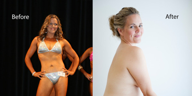 Taryn Brumfitt before and After
