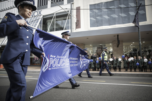 01082016 Photo: Rebekah Parsons-King. Police Parade celebrating 75 years of women being in the police force.