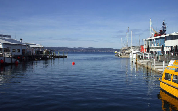 Hobart harbour (file photo)