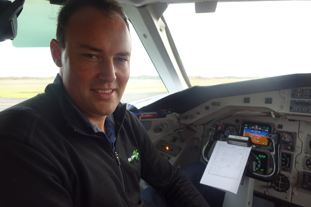 Air Chathams general manager Duane Emeny.