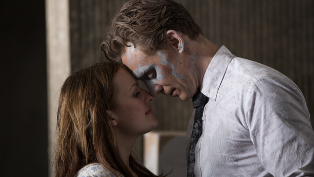 Elisabeth Moss and Tom Hiddleston in Ben Wheatley's High-Rise