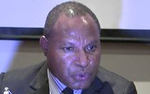 PNG Trade Minister, Richard Maru.