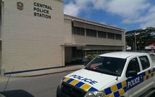 The Central Police Station in Tonga's capital, Nuku'alofa.