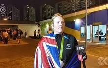 Natalie Rooney ecstatic at silver medal win