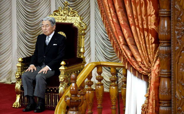 Japan's Emperor Akihito hints at wish to abdicate