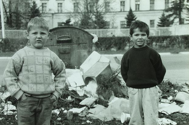 Young boys in Sarajevo