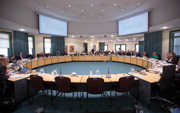 Council development committee meeting about Unitary Plan. 10 August 2016.