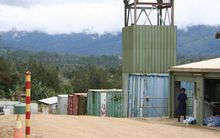 LNG Project site (run by project partner Oil Search) in Nagoli, Hela Province, Papua New Guinea.