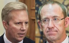 Todd McClay and Andrew Little